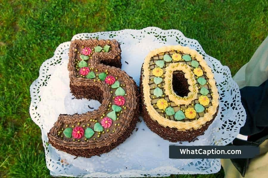 50th Birthday Captions