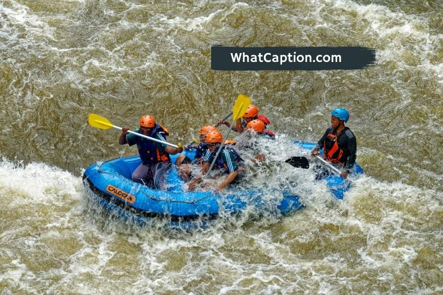 Rafting Captions for Instagram