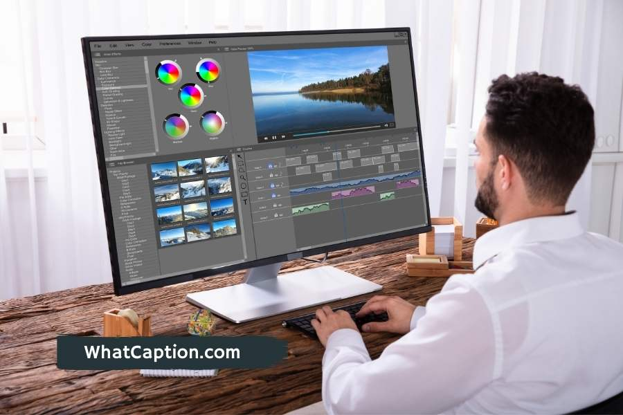 Video Editing Captions for Instagram