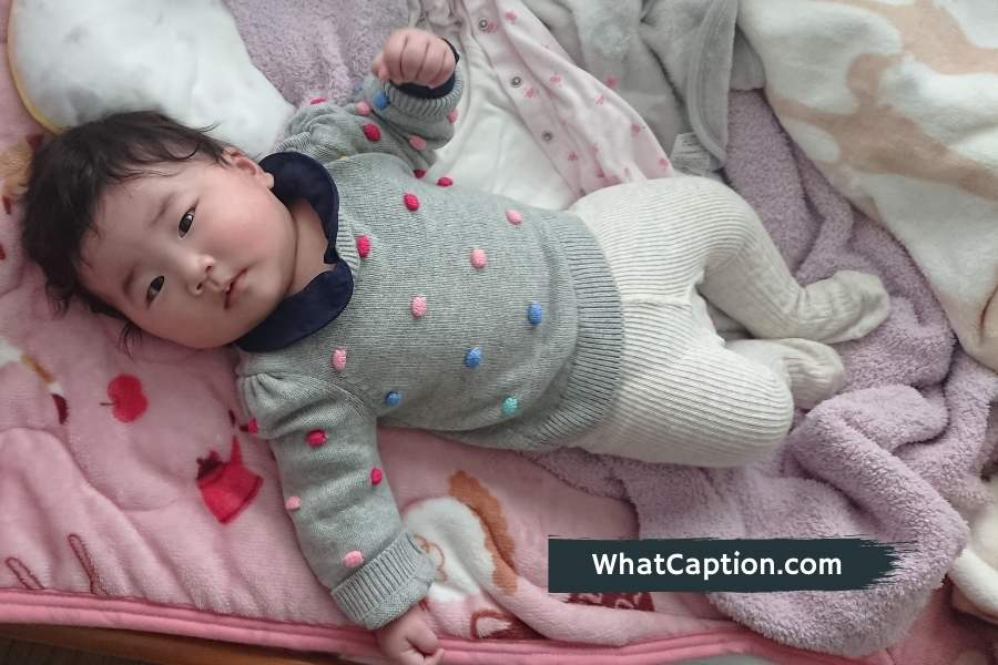 4 Month Old Baby Captions